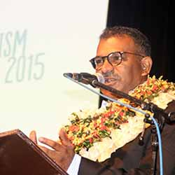 <p>Faiyaz Koya, minister of tourism for Fiji// © 2015 Kelvin Anthony of Tourism Fiji</p><p>Feature image (above): The 2015 Fijian Tourism Expo...