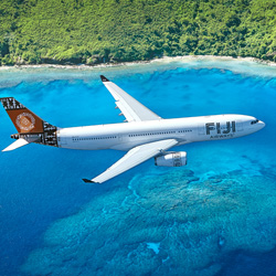 <p>Fiji Airways is the only carrier offering direct service between North America and Fiji. // © 2014 Fiji Airways</p><p>Feature image (above): The...