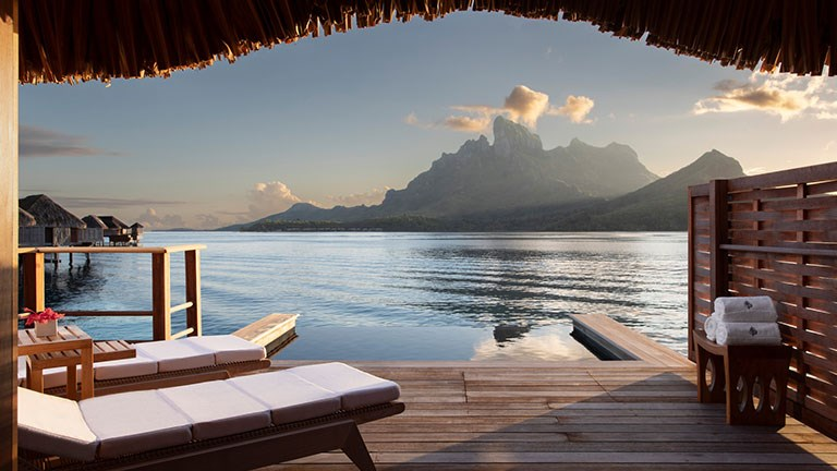 Four Seasons Resort Bora Bora is one of several properties across French Polynesia that will be closed through at least April 30.