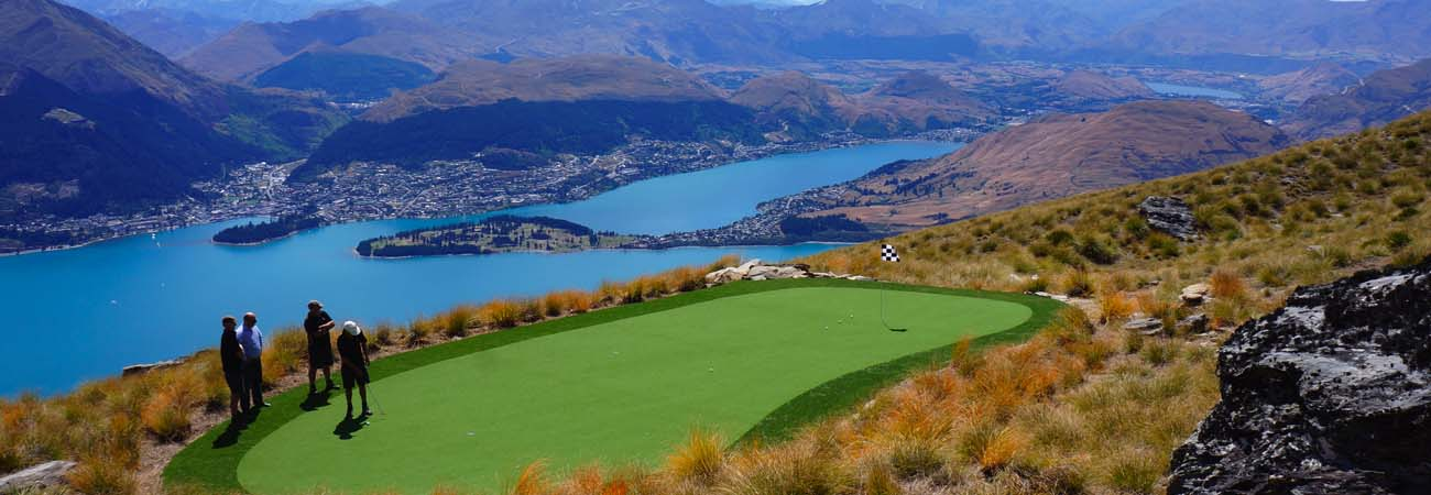 High-Altitude Golf in Queenstown, New Zealand