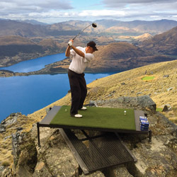 <p>New Zealand prime minister John Key tees off from 4,500 feet with Over The Top – The Helicopter Company. // © 2014 Over The Top</p><p>Feature image...