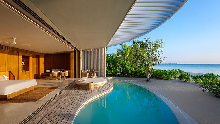 A villa at the resort