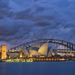 The Sydney Opera House was designed by Danish architect Jorn Utzon. // © 2013 Thinkstock