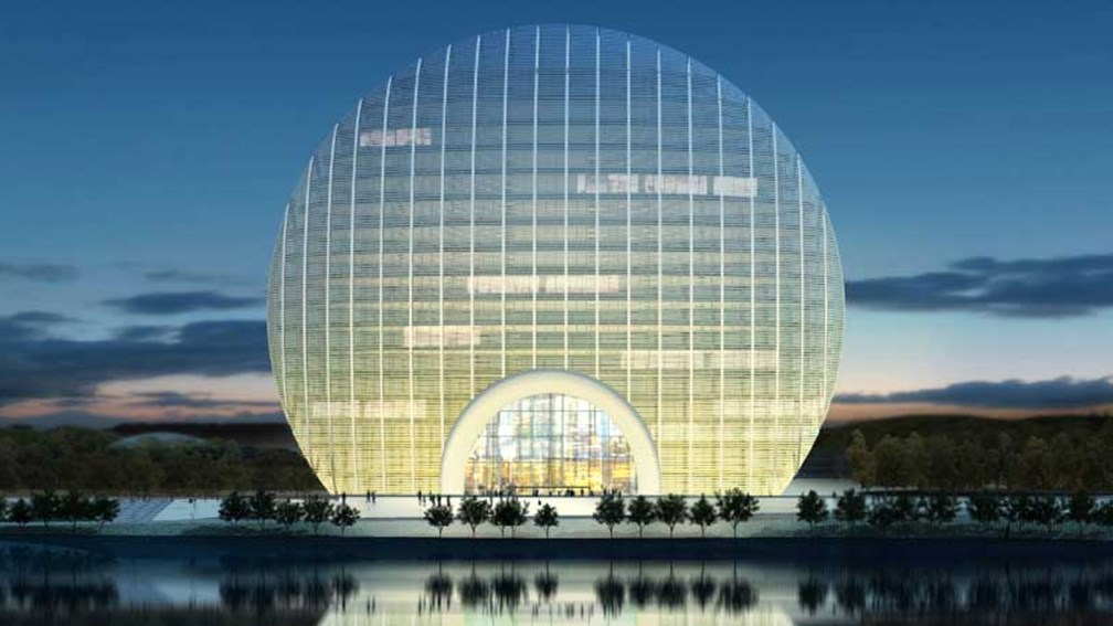 The 306-room Kempinski Yanqi Lake will open later this year. // © 2014 Kempinski Yanqi Lake 2