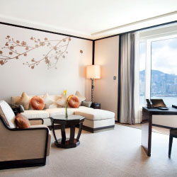 A newly renovated suite // © 2013 The Peninsula Hong Kong