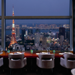 <p>The hotel's new design highlights the Tokyo skyline. // © 2016 The Ritz-Carlton, Tokyo</p><p>Feature image (above): Catch live music in the...