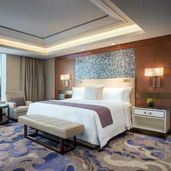 <p>An Empire Suite at St. Regis Macao, Cotai Central // © 2016 The St. Regis Macao, Cotai Central</p><p>Feature image (above): There is no shortage of...