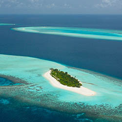 <p>The island of Voavah in the Maldives attracts high-end clients looking for a private island getaway. // © 2016 Four Seasons Hotels and...