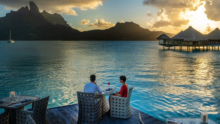 Enjoy a beautiful view at Lagoon Restaurant by Jean-Georges.