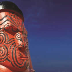 A traditional Maori carving, Rotorua, New Zealand // © 2013  Pichugin Dmitry