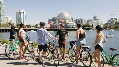 Vancouver's Top Places for Bicycling