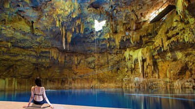 Discovering Chukum-Ha, Mexico's Newest Cenote, With Aventuras Mayas