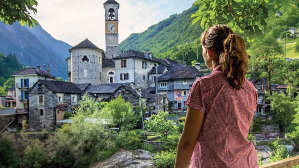 Drivers on the new Grand Tour of Switzerland may visit the village of Lavertezzo in the Verzasca Valley. // © 2015 Switzerland Tourism 3