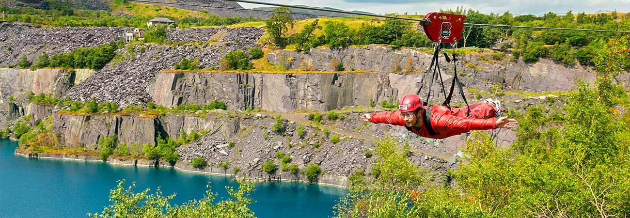 Become a Speed Racer at Wales' Zip World