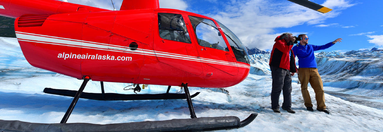 A Guide to the Best Alaska Helicopter Tours