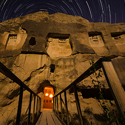 <p>Experience Cappadocia, Turkey, under the moonlight. // © 2015 Moonlight Cappadocia</p><p>Feature image (above): Cappadocia's rock formations are...