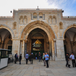 <p>Al-Aqsa Mosque // © 2016 David DiGregorio</p><p>Feature image (above): The Temple Mount is open to non-Muslims from Sunday to Thursday. // © 2016...
