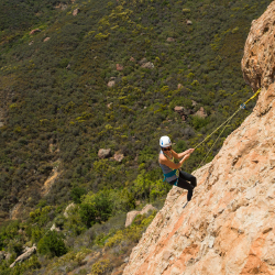 <p>Rock climbing is one of the operator's many offerings. // © 2016 Erik Isakson </p><p>Feature image (above): Gentry Jackson's main clientele...