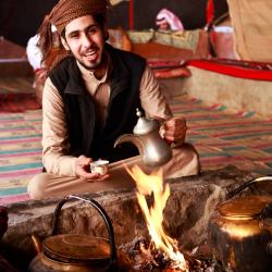 <p>Visiting Bedouin communities is a favorite cultural experience. // © 2016 iStock</p><p>Feature image (above): The seaside resort town of Aqaba...