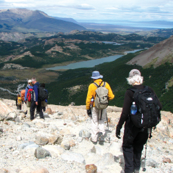 <p>Clients traveling with Peregrine Adventures can hike Patagonia with a small group. // © 2017 Peregrine Adventures</p><p>Feature image (above):...