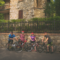<p>Cycling through Tuscany provides a unique perspective of the region. // © 2017 Josiah Holwick/Proper Films & ATTA</p><p>Feature image (above):...