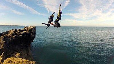How Daring Travelers Can Try Coasteering in Wales