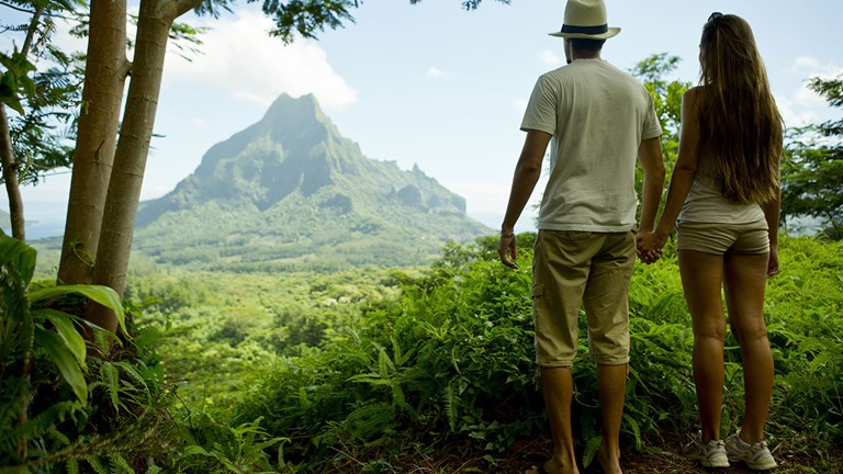French Polynesia has several under-the-radar trails to explore.