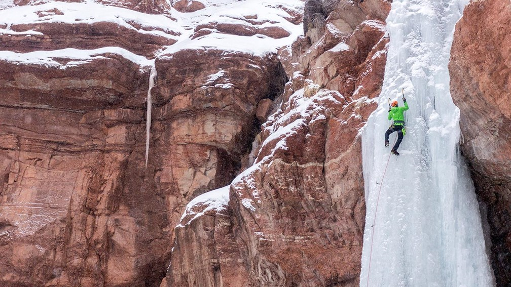 What It's Like to Ice Climb in Telluride, Colorado