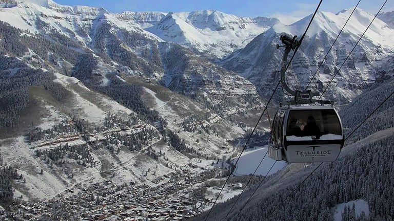 Telluride offers a wide range of winter sports.