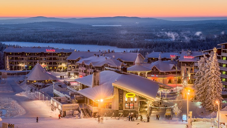 Ruka Village offers accommodations, services and activities for travelers.