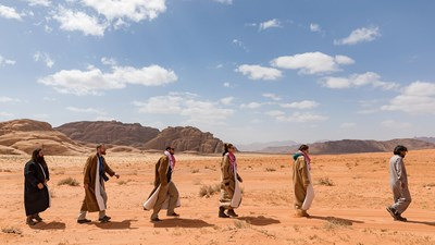 Trekking With Bedouins in Wadi Rum, Jordan