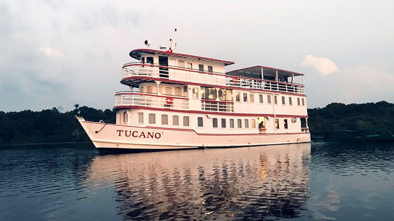 Tucano is a yacht named after a local bird.