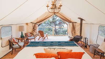 8 Outstanding Glamping Experiences to Recommend to Clients Right Now
