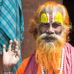<p>Visitors to Nepal can still enjoy the country's unique cultural and religious highlights, such as meeting the holy sadhus in Kathmandu. // © 2015...