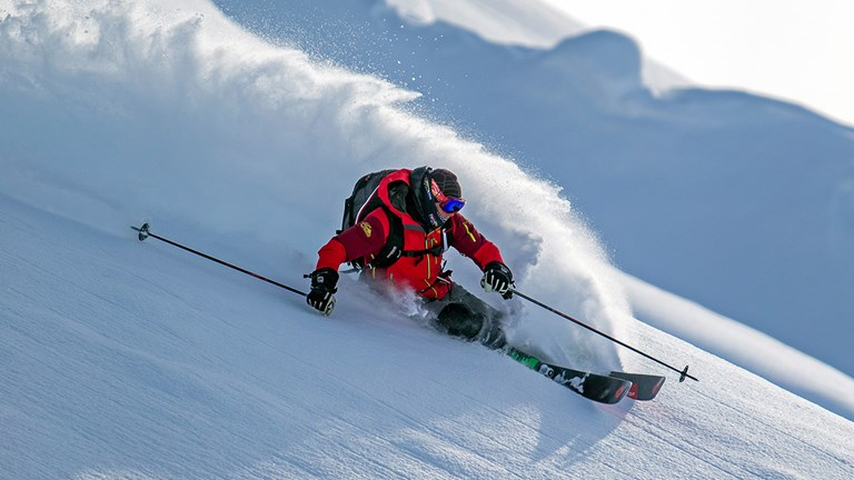 TML is a considered a bucket list destination for skiers due to its varied and unspoiled terrain.