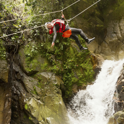 Ziplining is a year-round activity in Costa Rica. // © 2013 Thinkstock