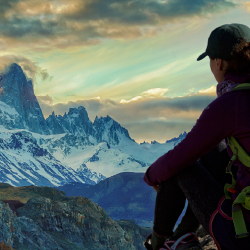 Patagonia ranks as the third hottest adventure-travel destination. // © 2016 iStock