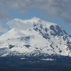 A new bike tour takes participants through several Washington volcanoes. // © 2013 Bicycle Adventures