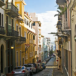 Agents can explore Old San Juan, Puerto Rico, during this Caribbean cruise. // © 2017 iStock