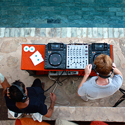 Learn how to DJ with Chic Punta Cana and The DJ Dispensary. // © 2015 The DJ Dispensary