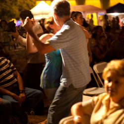 <p>Salsa dancing is a popular nightlife activity. // © 2015 Puerto Rico Tourism Company</p><p>Feature image (above): El Barril features a 28-foot bar...