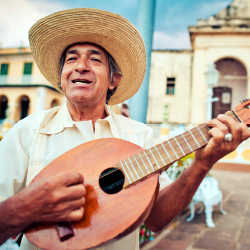 <p>Music is central to Cuban culture, and there are many opportunities to experience live performances. // © 2015 IStock</p><p>Feature image (above):...