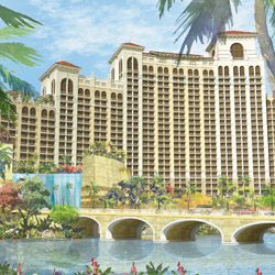 <p>The Baha Mar Casino Hotel will have 1,000 guestrooms and a 100,000-square-foot casino. // © 2014 Baha Mar</p><p>Feature image (above): Rosewood's...