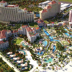 <p>The Baha Mar resort complex in Nassau is set to open on March 27, 2015. // © 2015 Baha Mar</p><p>Feature image (above): Baha Mar Casino & Hotel...
