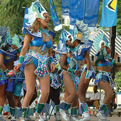 <p>Saint Lucia will celebrate Carnival from mid-June to mid-July. // © 2017 Saint Lucia Tourist Board</p><p>Feature image (above): Experience the...
