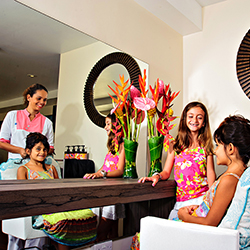 <p>Zando's Kids Program is tailored to kids ages 4 to 12. // © 2017 Capella Marigot Bay Resort and Marina</p><p>Feature image (above): Kids can...