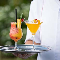 <p>Mount Gay 1703 Bar at The House, a boutique hotel in Barbados, is well-known for its famous House Mai Tai, along with other specialty cocktails. //...