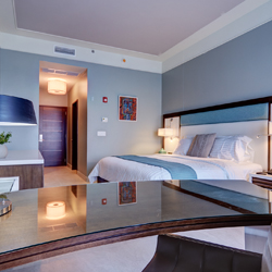 <p>A room at Karibe Hotel, which recently added a new wing with 100 rooms // © Karibe Hotel 2014</p><p>Feature image (above): The new Best Western...
