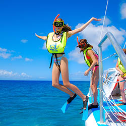 <p>Family reggae catamaran cruises with Island Routes is a great way to explore Jamaica beyond the shore. // © 2016 Island Routes</p><p>Feature image...