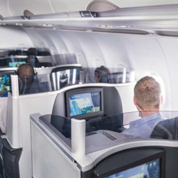 <p>JetBlue's Mint premium service is available on flights from Florida to Barbados and includes lie-flat seats. // © 2016 JetBlue</p><p>Feature image...